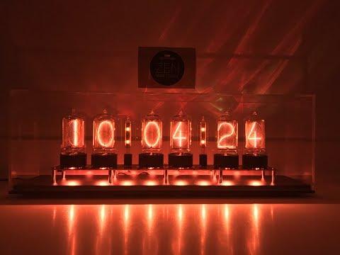 Nixie Tube Clock With Colon Tubes Unboxing #2 | Dalibor Farny Zen Clock | R|Z568M