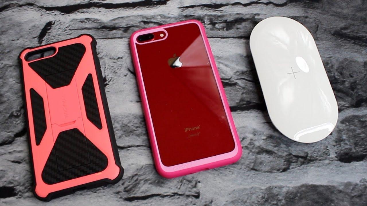 Bright Pink Supcase & I Blason iPhone 8 Plus Cases