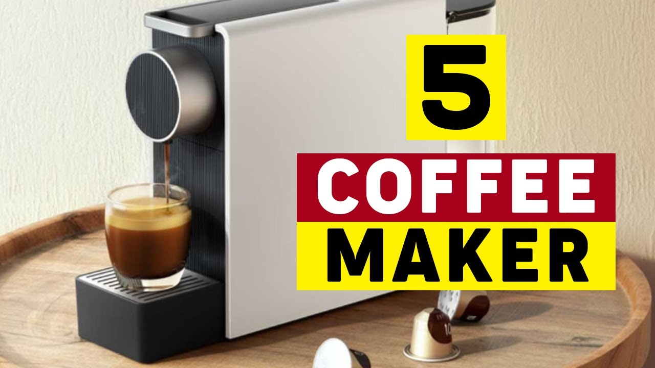 5 Best Coffee Machine For Home To Buy In 2020 - YouTube