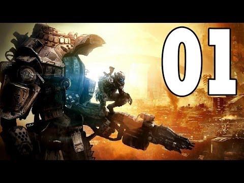 Let's Play Titanfall Xbox One Gameplay German Deutsch Part 1 - Pilotenjäger Lagune / Bruch