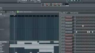 Хип-хоп инструментал в Fl studio