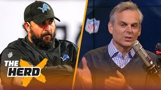 Colin Cowherd on reports Lions players are upset with Matt Patricia | NFL | THE HERD