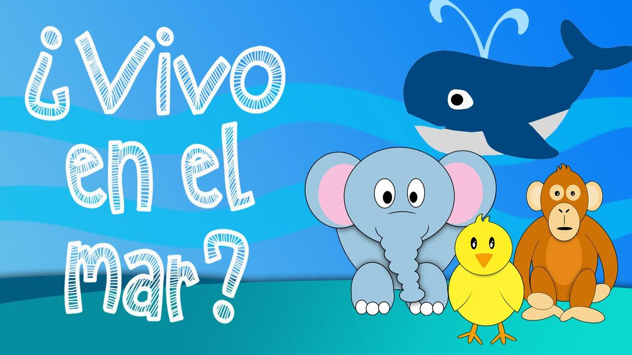 Que Animales Viven En El Mar Juego Educativo Para Niños Youtube