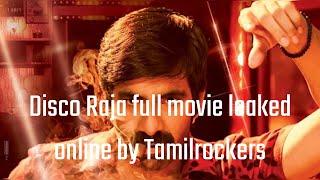Disco Raja full movie leaked online by Tamilrockers