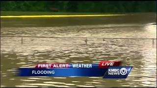 Flood waters rise again in Excelsior Springs
