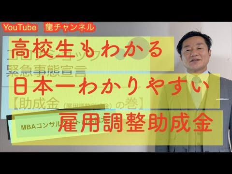 【前半】日本一わかりやすい雇用調整助成金①知らないとあとで損をする雇用調整助成金の申請における落とし穴  緊急事態宣言を受けてコロナウイルスの影響を受ける事業者に助成金の制度と申請
