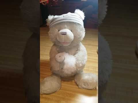 Baby Gund Sleepy Time Bear Lamb Light and Music