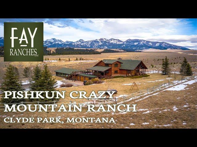 SOLD   Montana Property For Sale   Pishkun Crazy Mountain Ranch   Clyde Park MT