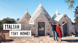 Luxury Tiny House In Southern Italy! - Traditional Trullo Tour & Alberobello Puglia