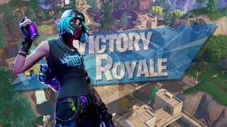 LAND AT TILTED AND GET WHAT YOU DESERVE! | FORTNITE SEASON X SOLO VICTORY GAMEPLAY