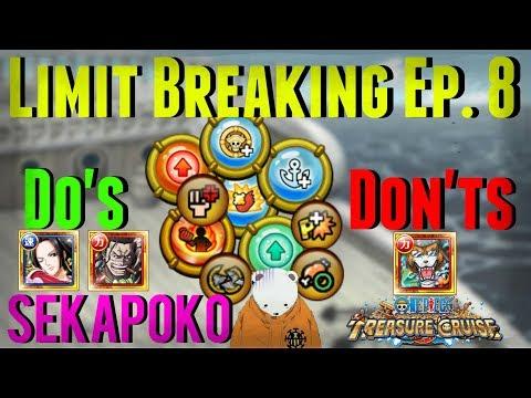 Limit Break Worth It Or Not? Episode #8   One Piece Treasure Cruise