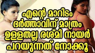 എന്റെ മാറിടം ഭർത്താവിന് മാത്രം ഉള്ളതല്ല രശ്മി നായർ പറയുന്നത് നോക്കൂ   Reshmi Nair's Post Viral