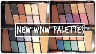 New Wet n Wild Color Icon Palettes! || MAP Beauty