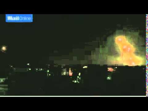 srae militants fire rockets toward Gaza l's centre
