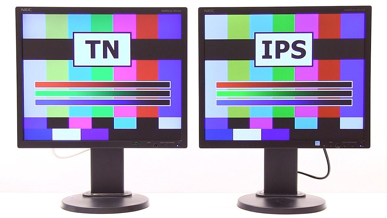 LCD Monitors (TN v IPS) - YouTube