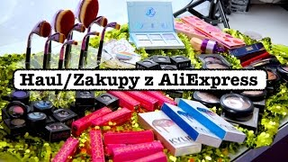 Zakupy/Haul z Chin AliExpress cz.3 Jeffree Star Moon Child Anastasia Too Faced MAC Kailijumei