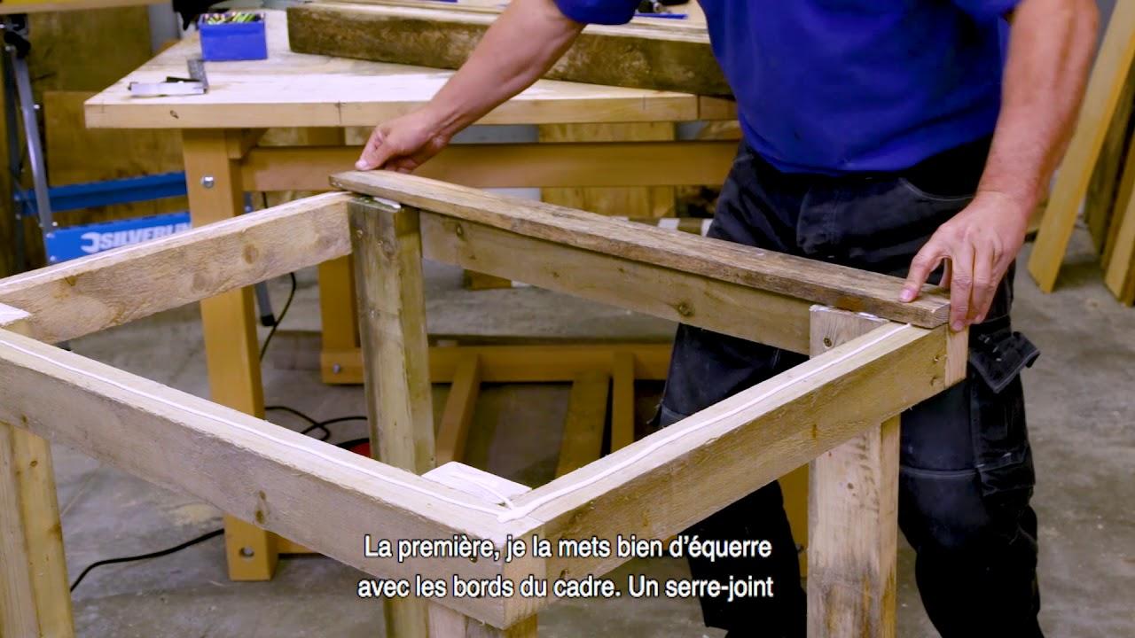 Construire Un Etabli Multifonction comment fabriquer un établi avec des palettes