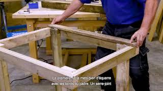 Comment fabriquer un établi avec des palettes