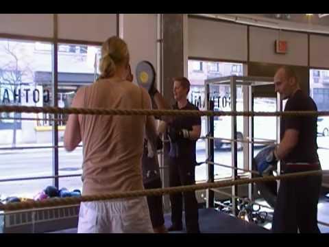 The FINNS attack Gotham Gym