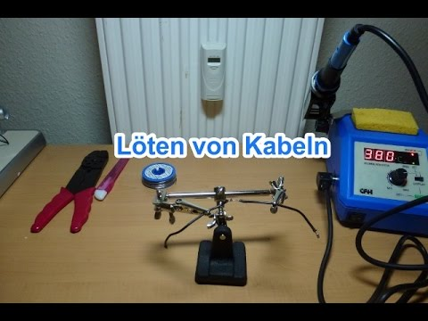 l ten von kabeln so wird s gemacht youtube. Black Bedroom Furniture Sets. Home Design Ideas