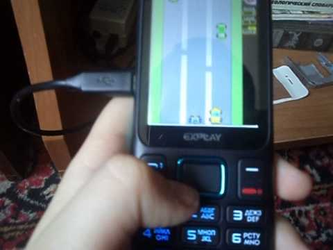 Обзор моего телефона Explay A240 - YouTube