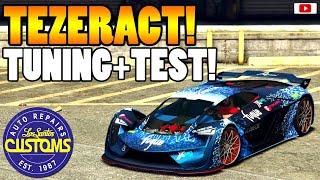 🚘🛠Neuer Future Lambo! TEZERACT Tuning + Test!🚘🛠 [GTA 5 Online Super Sport Series Update DLC]