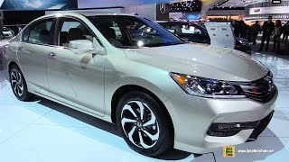 2016 Honda Accord - Exterior and Interior Walkaround - 2016 Detroit Auto Show