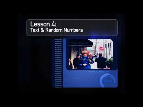 After Effects Expressions Lesson 4: Text and Random Numbers