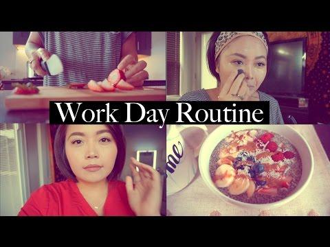 My Work Day (Nurse) Routine - maricarljanah