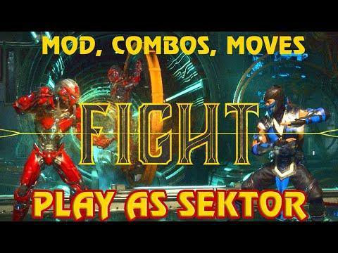 Mortal Kombat 11 Play As Sektor on PC (Mod, Special Moves