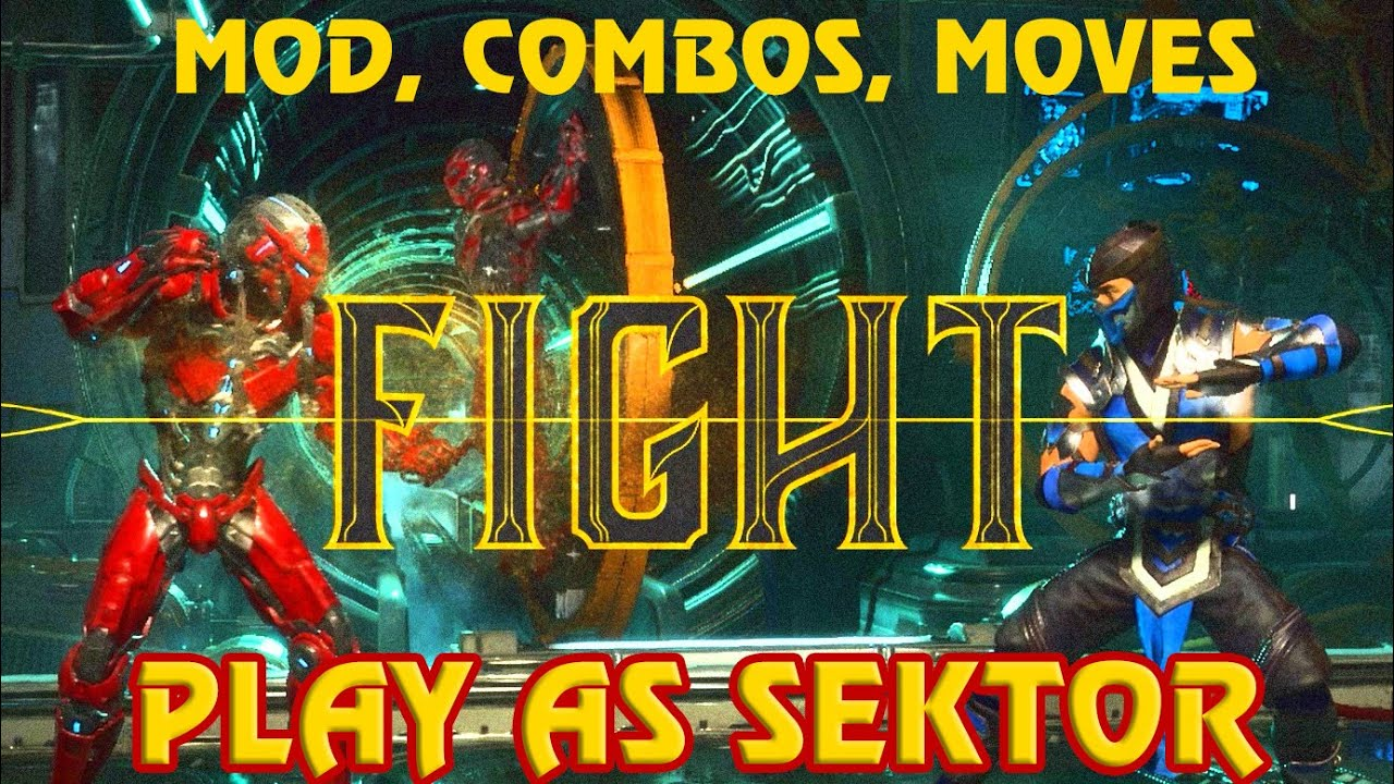 Mortal Kombat 11 Play As Sektor on PC (Mod, Special Moves, Combos Included)