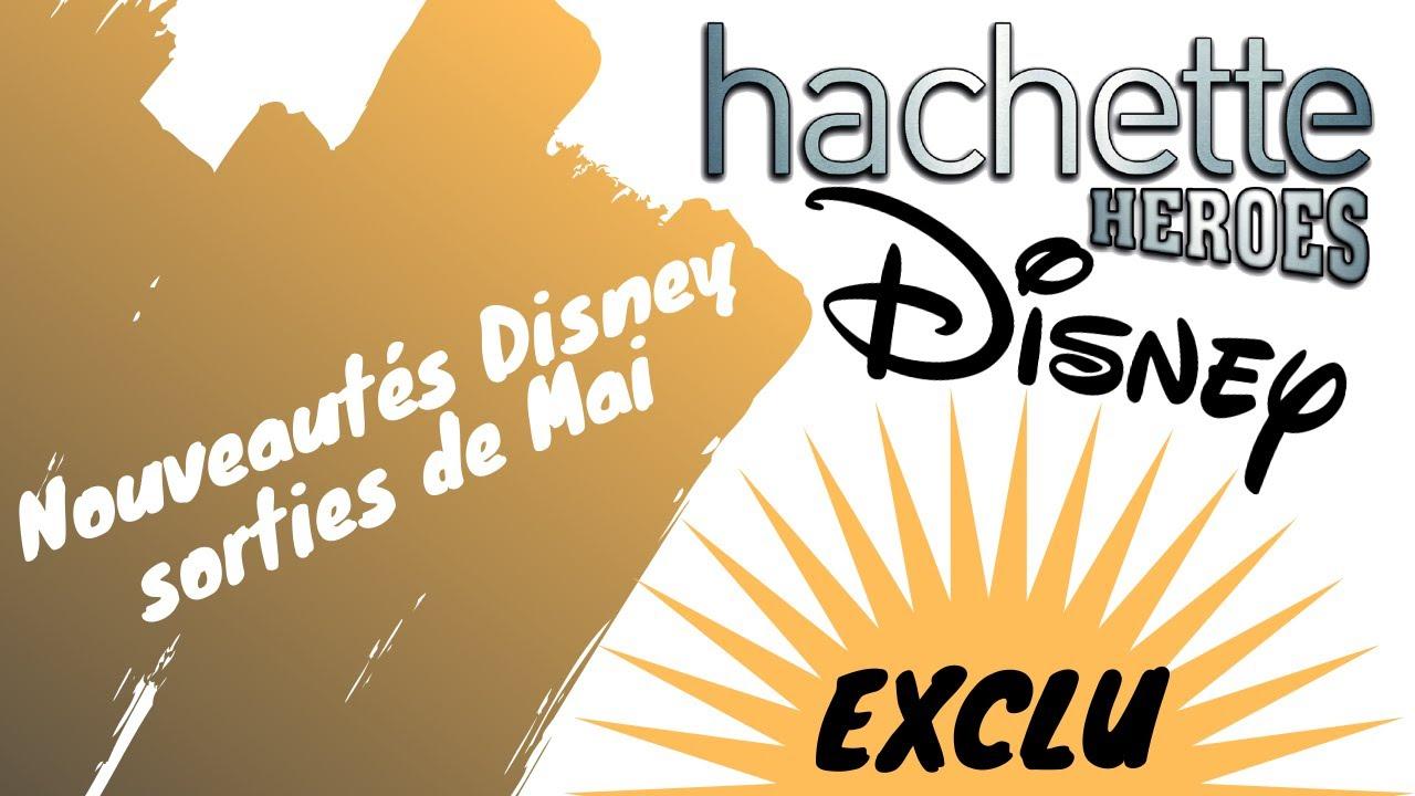 Coloriages Disney - Sorties de mai - Hachette Heroes