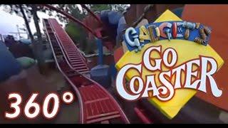 disneyland s toontown roller coaster vr gadget s go coaster front row 360
