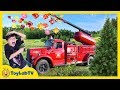 Giant Surprise Maze Game! Family Fun Christmas Tree Farm & Outdoor Holiday Park with Kids Activities