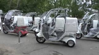 Скутеры Honda Gyro Canopy 50 PGM-FI TA03 - Walkaround, Kupiscooter.ru