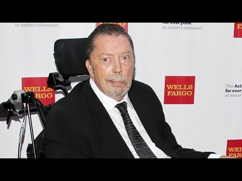 Tim Curry Gets Award At 2015 Tony Awards