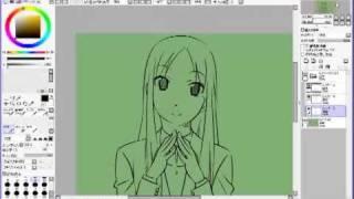 描画ソフト:SAI キャプチャーソフト:アマレココ 動画編集ソフト:Wind...