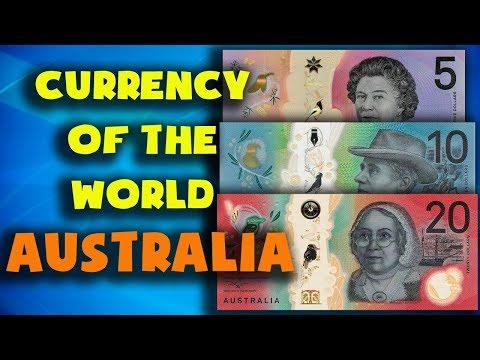 Currency Of The World - Australia. Australian Dollar. Exchange Rates Australia. Australian Banknotes