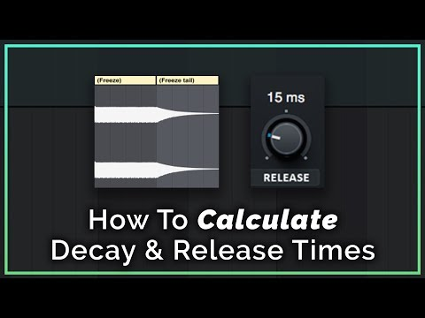 Calculate Reverb Decay Time To The Tempo Of Your Track