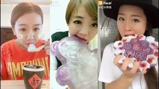 Most Satisfying Ice Eating ASMR Videos | Eat and Drink Compilation #3