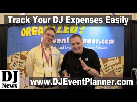 Keeping Track Of All Of The Business Numbers with DJ Event Planner | DJ News | #DJEventPlanner