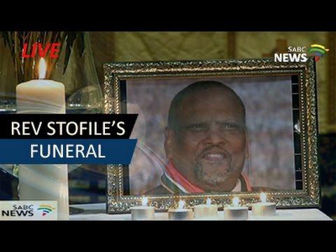 Reverend Makhenkesi Stofile's Funeral