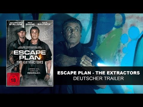 Escape Plan - The Extractors (Deutscher Trailer) Sylvester Stallone, Dave Bautista | HD | KSM