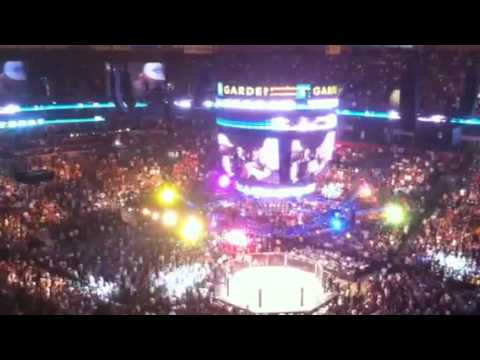 UFC 118 - James Toney entrance
