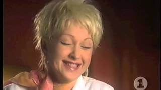 Lauper Laughs