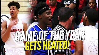 """THEY CAN'T HANDLE ME, IT'S OVER WITH!"" Vashon VS Chaminade Goes DOWN To The Wire!!"