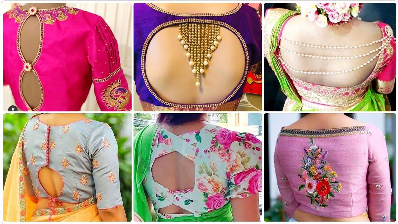 my fashion: simple blouse gale ki design