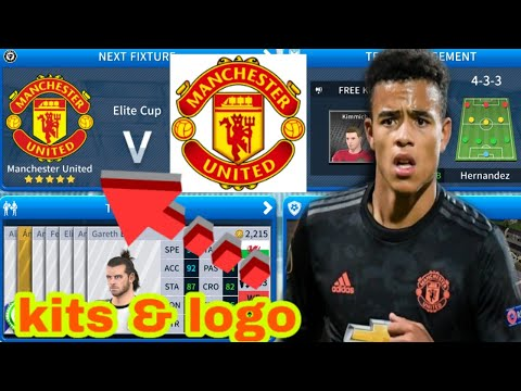 How To Import Manchester United Logo And Kits In Dream League Soccer 2019 DLS GAME ....
