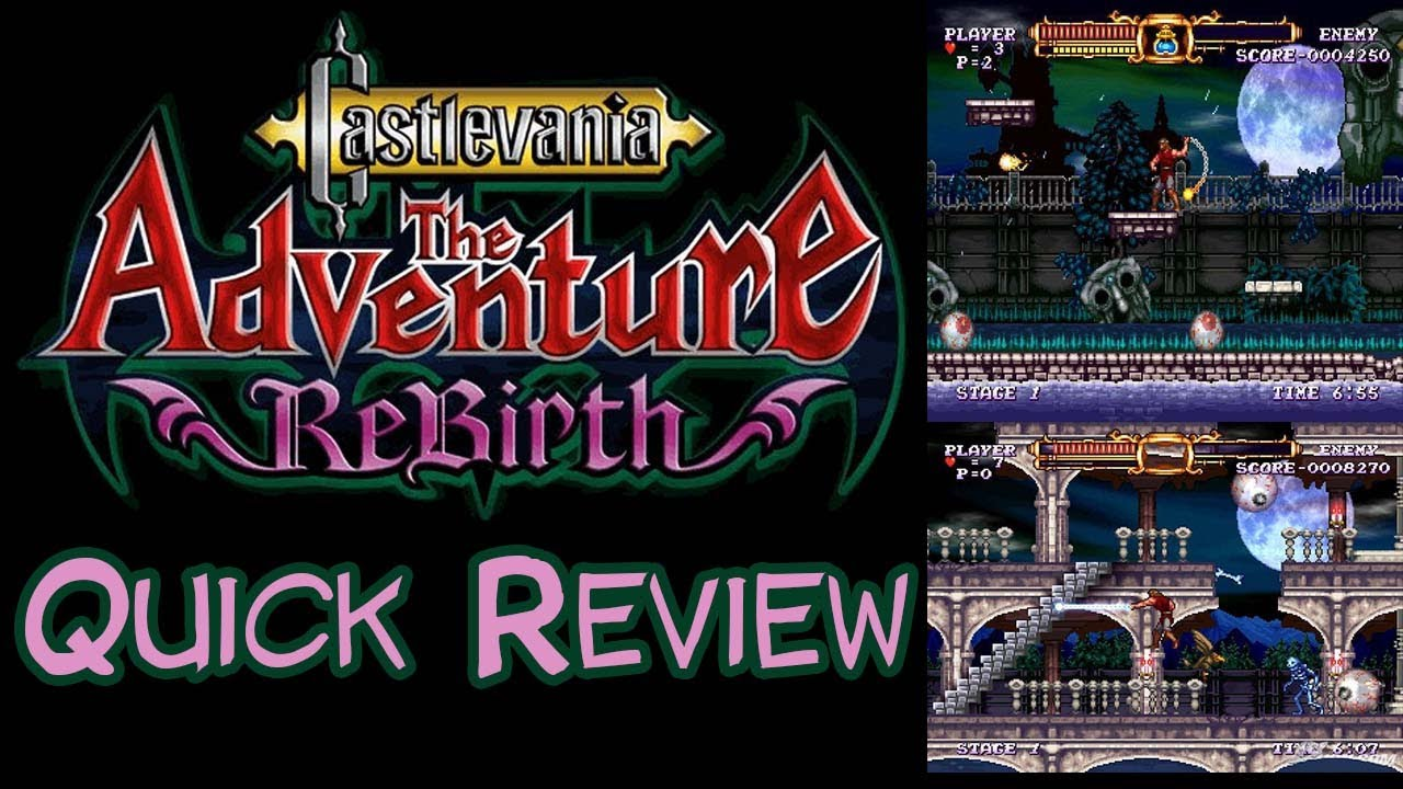 castlevania the adventure rebirth wii review youtube. Black Bedroom Furniture Sets. Home Design Ideas