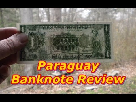 Paraguay 1952 Banknote Review